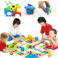 飞行棋地毯式儿童玩具宝宝爬行垫益智大号亲子互动游戏棋桌游