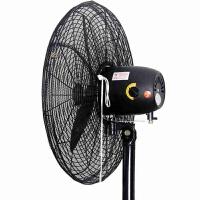 牛角工业电风扇安全防护网罩全包防小孩夹手保护网罩防尘罩落地式 黑网直径 60cm