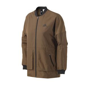 adidas阿迪达斯女子外套夹克中长款大衣休闲服BP6954