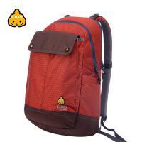 运动休闲口袋包户外双肩背包 日常电脑包中学生书包 升
