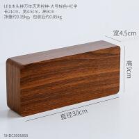 创意家居卧室客厅个性装饰品木质学生床头摆件现代简约多功能闹钟