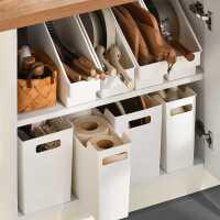 厨房收纳盒整理盒收纳筐厨具锅具收纳置物架下水槽神器橱柜收纳架