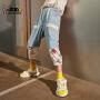 小虎宝儿男童装梭织短裤2021夏季儿童七分裤薄款中大童速干
