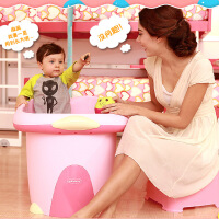 世纪宝贝婴儿浴盆 新生儿超大号加厚儿童洗澡桶 宝宝沐大浴桶BH308