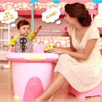 世纪宝贝 婴儿浴盆 新生儿超大号加厚儿童洗澡桶 宝宝沐大浴桶BH308