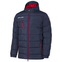 KELME卡��美 K15P014 �和��B帽中�L款�\�用薹� 足球系列保暖棉衣 �敉庑蓍e棉外套