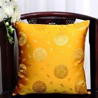 中式红木沙发抱枕办公室靠枕套床上腰垫午睡枕座椅靠背中国风靠垫
