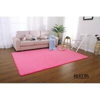 地毯卧室满铺北欧客厅茶几榻榻米家用房间地垫可爱粉定制床边地毯j