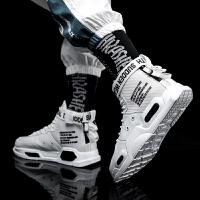 男鞋秋冬新款高帮加绒中大童运动篮球鞋