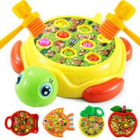 女宝宝男孩电动1-2-3周岁女孩婴幼儿童打地鼠玩具大号一两岁