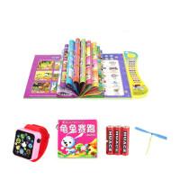 升级版中英文点读书早教机电子书婴幼儿童的玩具可充电