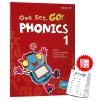 Oxford Get Set Go Phonics 1 牛津自然拼读教材学生用书 英文原版书 牛津幼儿英语语音启蒙教材