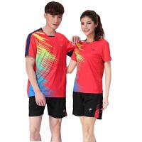羽毛球服套装 情侣款排球衣运动服套装 男女乒乓球训练比赛服