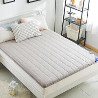 加厚高档 全棉床垫羊毛床褥单人1.2m双人1.8米榻榻米床护垫1.5床
