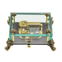 【当当自营】韵升 RHYMES 30音 定制系列 创意礼品 玩具 八音盒 龙头玻璃 龙头摆件音乐盒 Y30L1