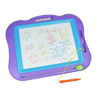 宝贝宝宝儿童玩具彩色磁性写字板画板 大号涂鸭学习用品