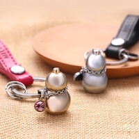立体葫芦钥匙扣男女汽车钥匙链平安挂件定制金属圈创意情侣