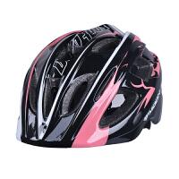 儿童头盔自行车山地车骑行头盔 一体成型 可调尺寸 骑行轮滑装备 儿童M(52-55CM)