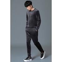 冬季运动套装男秋冬男士休闲套装男秋装男装套装新款韩版潮流