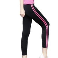 瑜伽服紧身运动裤 女速干秋冬韩国健身房跑步瑜珈显瘦七分裤