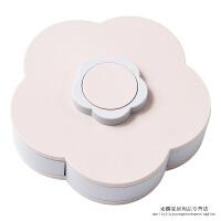 干果盘糖果盘家用水果盘客厅果盘创意现代欧式茶几多功能塑料拼盘收纳箱