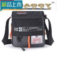 日本男包包斜挎包单肩运户外休闲新款方形男生小包定制
