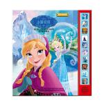 英语学习有声故事书・冰雪奇缘(pi kids 皮克童书・有声玩具书)