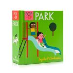 启蒙立体小书 公园 Pop-up Park 英文原版绘本 认知识物早教启蒙绘本 低幼英语启蒙学习 亲子互动游戏书 小开