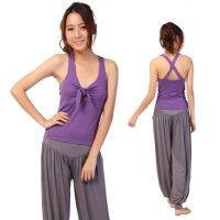 瑜伽服套装 新品瑜珈服套装 个性灯笼收脚裤愈伽衣服装 支持礼品卡支付