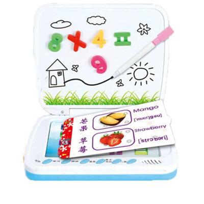 儿童早教机电脑学习玩具插卡片点读机幼儿01-3-6周岁 发货周期:一般在付款后2-90天左右发货,具体发货时间请以与客服协商的时间为准