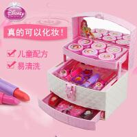 女孩口红过家家化妆箱儿童化妆品公主彩妆盒套装可化妆玩具