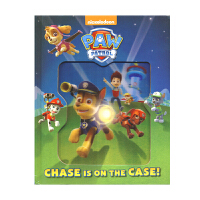 Paw Patrol Chase Is On The Case 阿奇包在我身上 汪汪队立大功 狗狗巡逻队 精装儿童英语