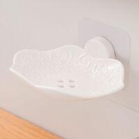 肥皂盒浴室壁挂式沥水强力无痕贴吸壁无需打孔粘的牢