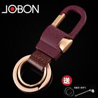 钥匙扣男汽车钥匙扣不锈钢链圈挂件定制腰挂创意礼物