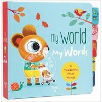 现货 My World My Words: A Toddler's First Words Board book 英文原