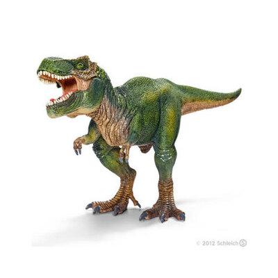 [当当自营]Schleich 思乐 恐龙系列 雷克斯暴龙 S14525【当当自营】仿真塑胶模型 收藏玩具 高级动物模型公仔