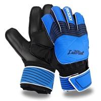 带护指 男女足球守门员手套龙门门将手套7-10号守门服手套 红黑8号带护指