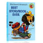 英文原版绘本Richard Scarry's Best Storybook Ever 图画故事书 给孩子82个好故事