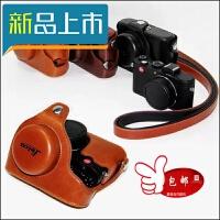 徕卡相机皮套V-LUX TYP114 D-LUX6 LUX5 D-lux Typ109莱卡定制 V-Lux 4咖色