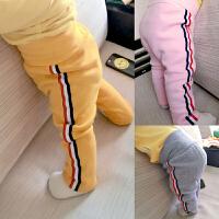 女婴儿裤子0岁7个月3男宝宝新生儿女童长裤潮款秋装1休闲秋季冬装