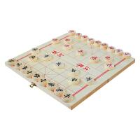 中国象棋 实木 象棋 折叠 棋盘套装象棋家用学生培训 中号 实木折叠中国象棋