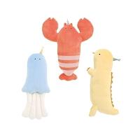 龙虾抱枕可爱公仔睡觉玩偶毛绒玩具萌娃娃女生儿童节礼物