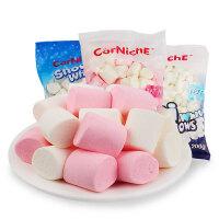 【满99减50元】菲律宾可尼斯进口棉花糖300g组合 白色创意diy棉花糖牛轧糖原料
