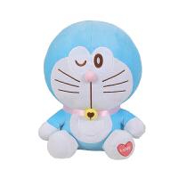 哆啦a梦公仔爱心毛绒玩具机器猫抱枕甜心叮当猫蓝胖子娃娃儿童生日礼物女