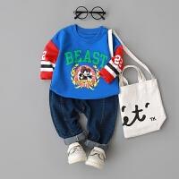 童装男童卫衣0-1-2-3-4岁婴儿衣服上衣长袖衣服宝宝春装