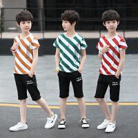 男童夏装新款套装儿童夏季童装韩版短袖两件套