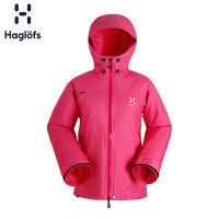Haglofs火柴棍女款户外运动防风保暖连帽夹克601910 欧版