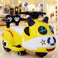 儿童电动车小孩可坐玩具车摩托车室内童车选配摇摆三轮车宝宝