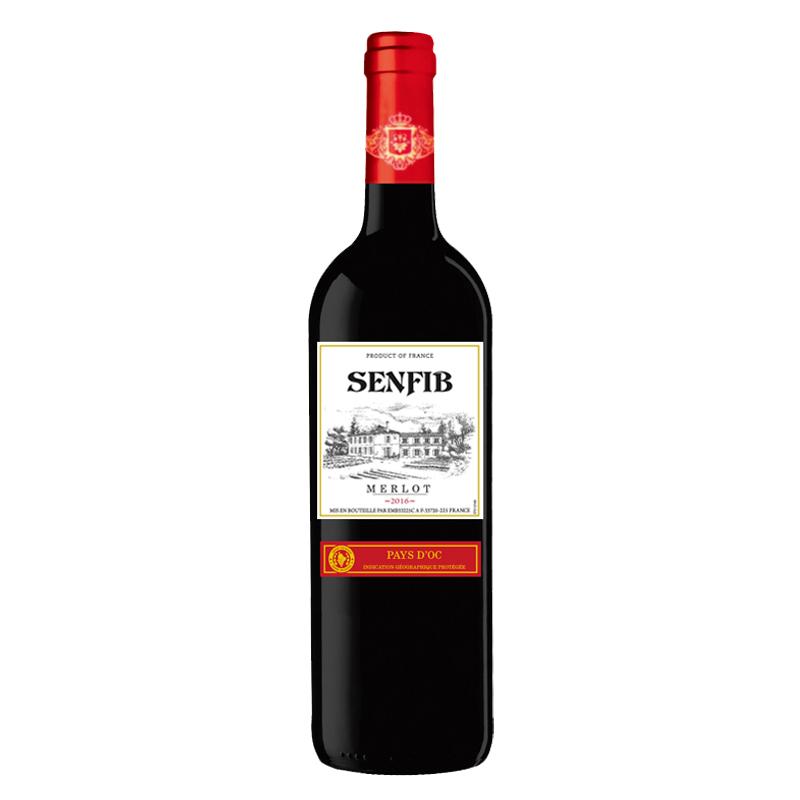 圣菲堡美乐干红葡萄酒 750ml
