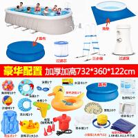 游泳池小孩婴儿宝宝家用超大号家庭加厚充气水池儿童水上乐园